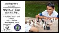 Louise Park Chess Tables