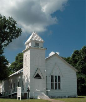 In 1870, as the Houston and Great Northern Railroad began surveying Montgomery County's first rail line, Galveston merchants Peter J. and Richard S. Willis, landholders in the county, donated a townsite to the railroad along the proposed route. By that time a number of farmers in the vicinity had already organized a Methodist congregation, which became the first church in the community of Willis. By 1872 the rail line had been extended through the town, and most of the businesses and residents of Danville, Montgomery, and Old Waverly had begun moving to the new town.