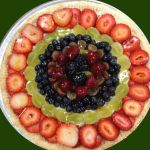 Delightfully delicious fruit dessert pizza for any special occasion