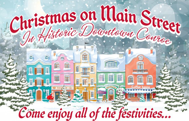 Christmas on Main to debut in Downtown Conroe, Tuesday Nov. 28