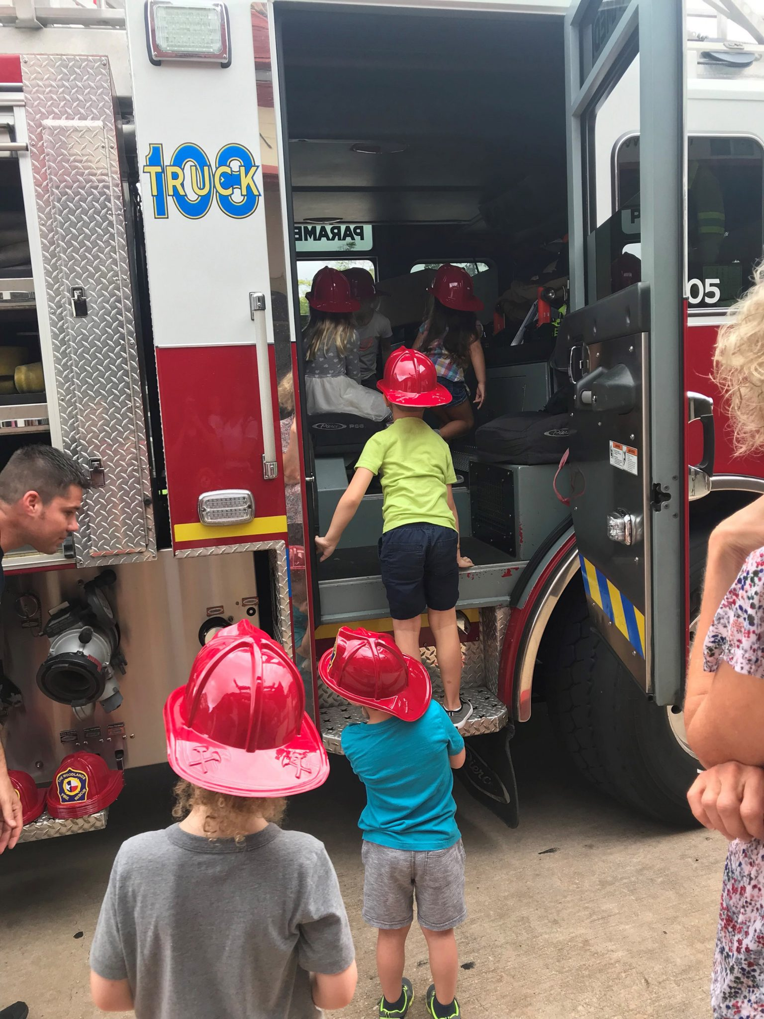 Fire Prevention Week at The Woodlands Children's Museum — Firefighters kick off activities with visit Tuesday, Oct. 8