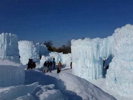 ice castle wisconsin dells
