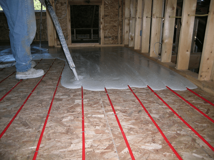 Radiant Flooring Installation