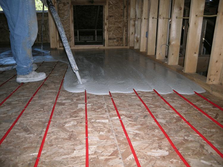 Radiant Flooring Installation