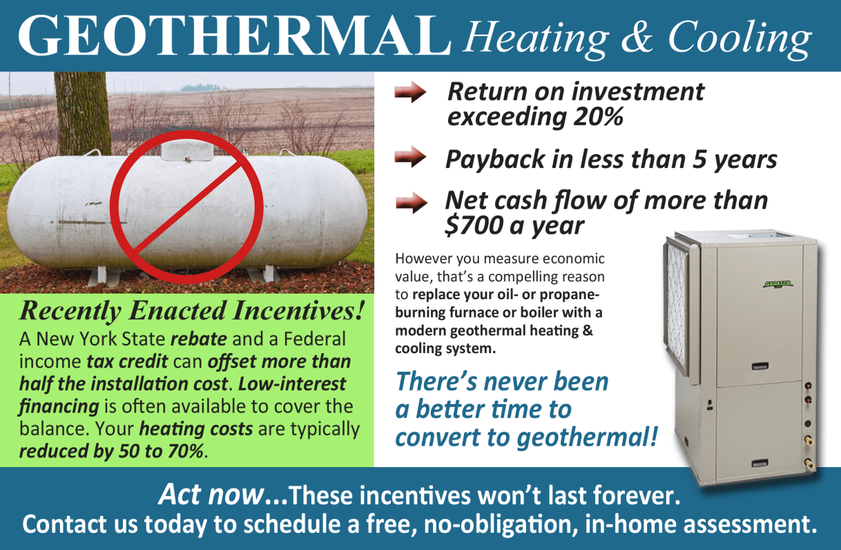Federal Tax Credit for Geothermal