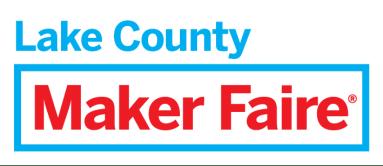 Maker Faire Lake County logo