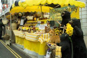Fieldside Honey outside Elephant Yard
