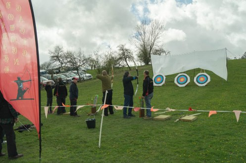 Archery with the Eagle Bowmen from Penrith