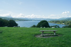 There are even a couple of benches on which to enjoy the view
