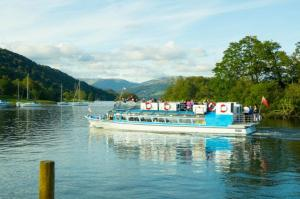 One of the Miss Cumbria vessels on Windermere