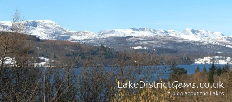 Windermere from the Hammarbank viewpoint