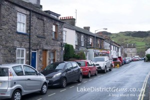 The main street in Staveley, near Kendal