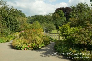 The garden at Hill Top