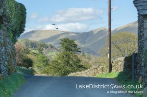 The beautiful Troutbeck valley in May