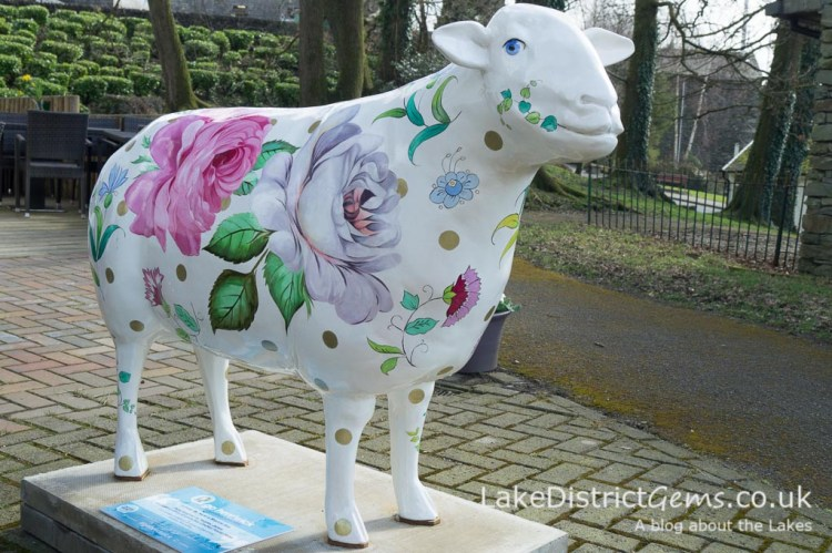 Sharrow Baa, sponsored by Sharrow Bay Country House Hotel at the Mountain Goat office in Windermere