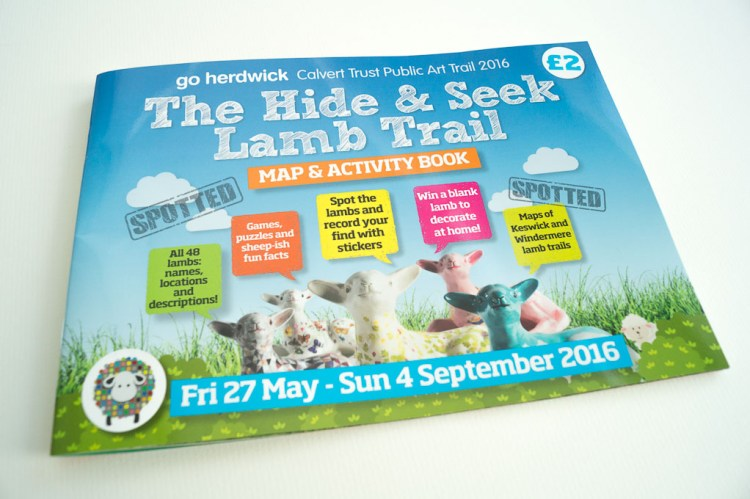 The Hide & Seek Lamb Trail Activity Guide