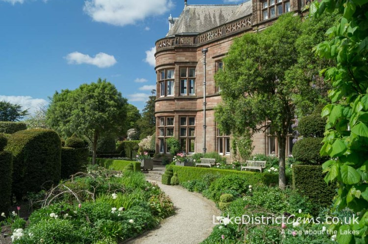 The Elliptical Garden at Holker Hall