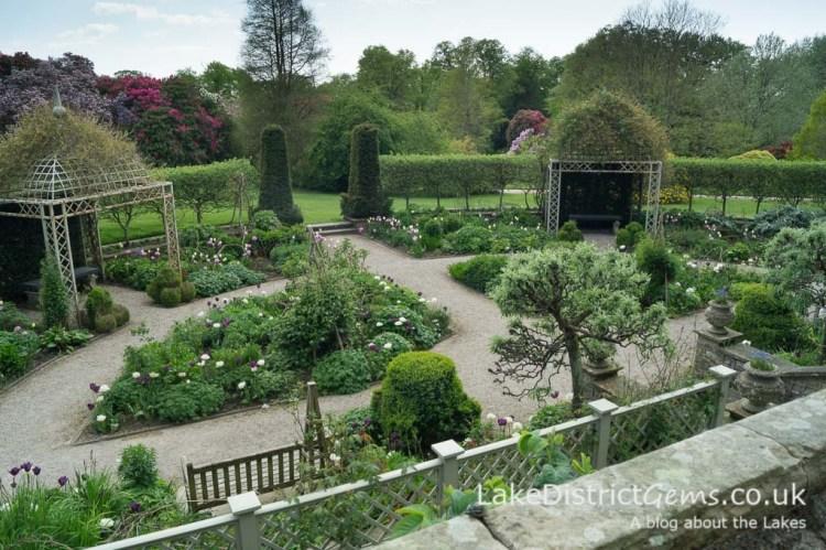 The Sunken Garden at Holker Hall