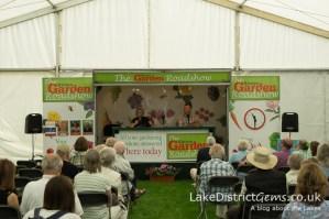 Gardening questions at the Holker Garden Festival 2016