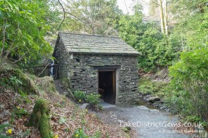 The Grot at Rydal Hall