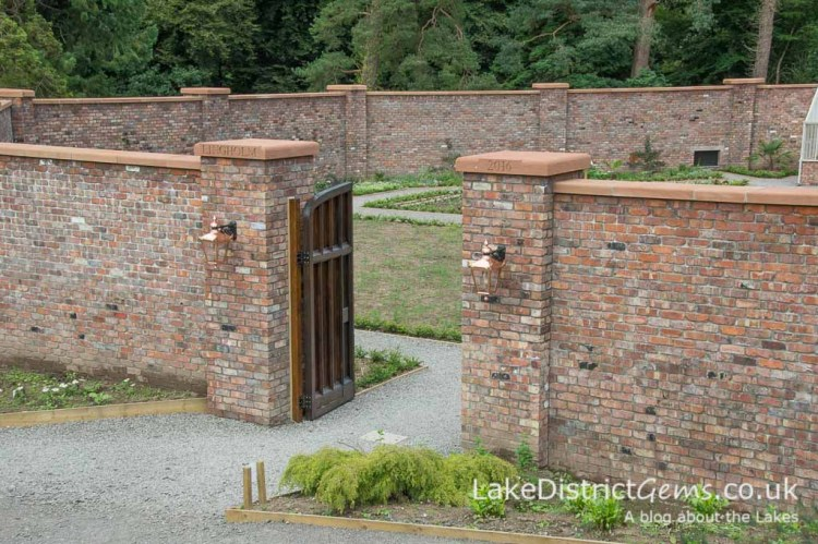The entrance to the Walled Garden on the Lingholm Estate
