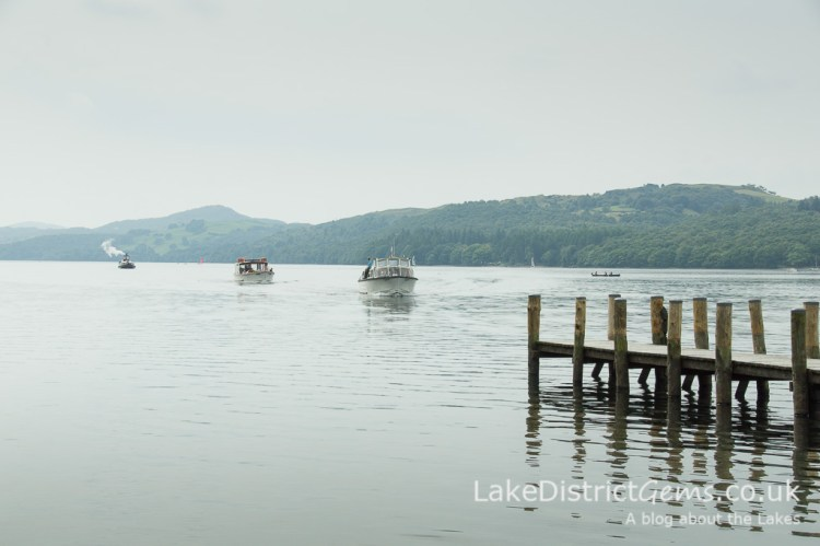 Coniston Water from the Brantwood Jetty