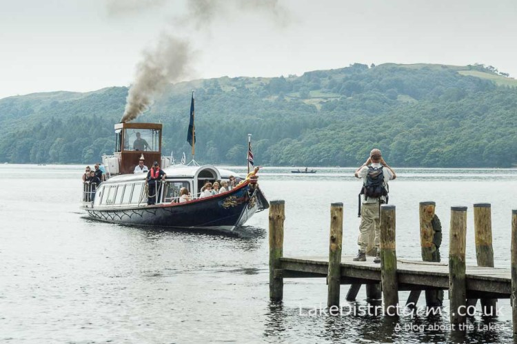 The National Trust's Steam Yacht Gondola, Coniston Water