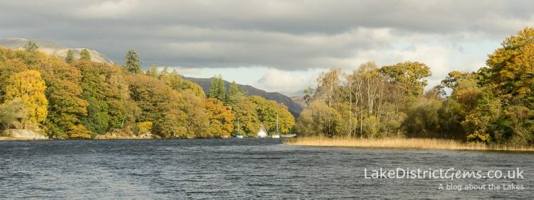 Near to Lake Bank Jetty, at the southern end of Coniston Water