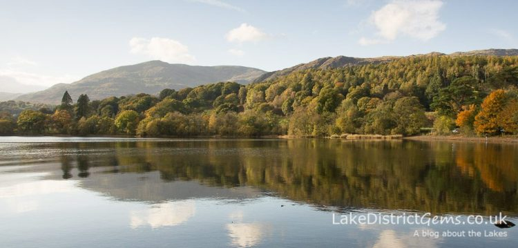 Autumn colours from Monk Coniston car park