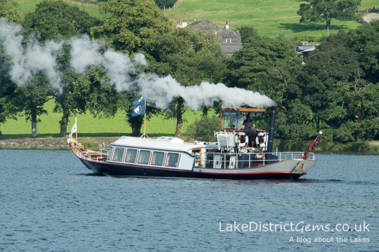 Steam Yacht Gondola on Coniston Water