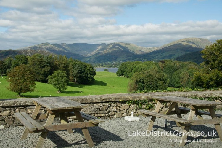The view from Wray Castle