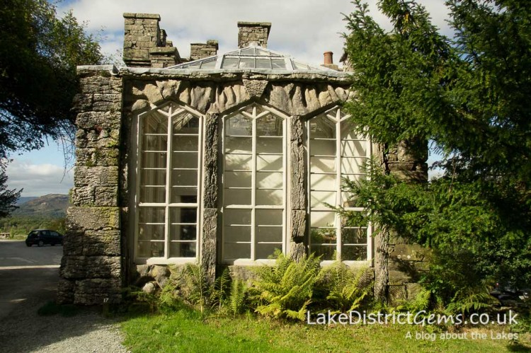 The Fernery at Wray Castle