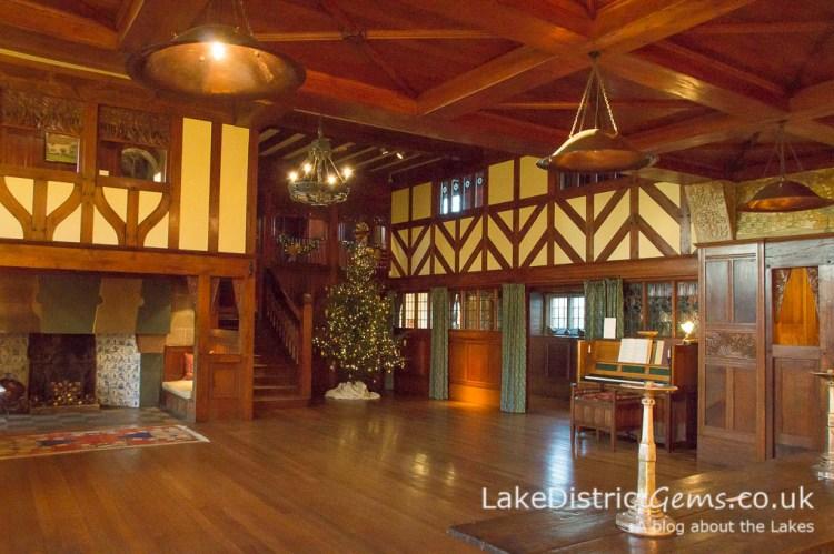 The Main Hall at Blackwell