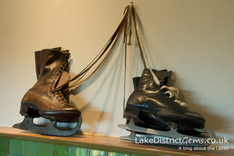 Ice skates at Blackwell