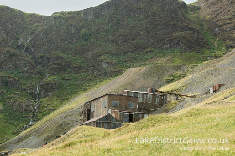 Force Crag Mine at the head of the Coledale valley
