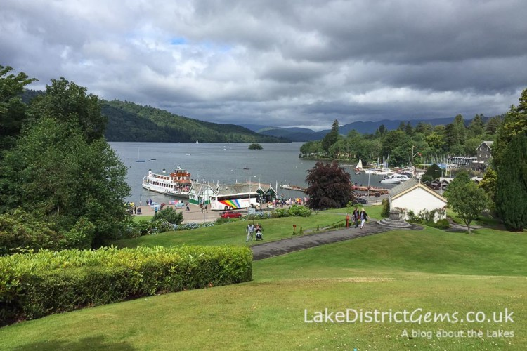 Overlooking Bowness Bay from the Laura Ashley Belsfield