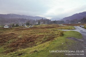 Elterwater from above the village