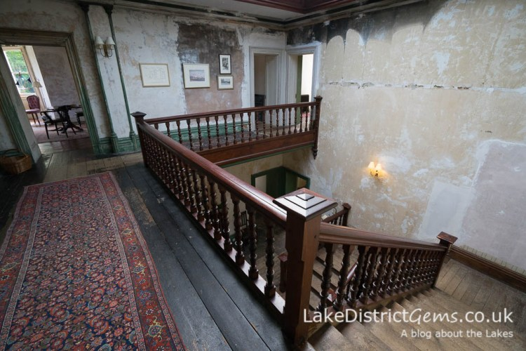 The staircase at Allan Bank, Grasmere