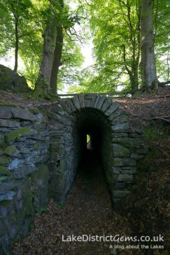 The tunnel at Allan Bank, Grasmere