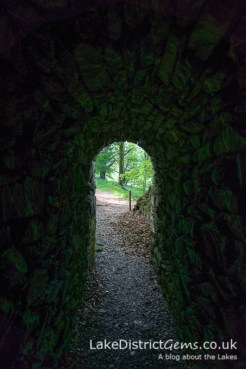 Inside the tunnel at Allan Bank, Grasmere