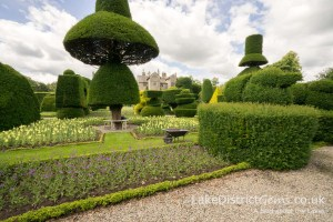 The topiary garden at Levens Hall