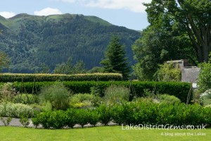 The scenery from the Bee Garden at Mirehouse, Bassenthwaite