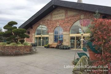 The entrance to Barton Grange
