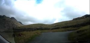 Pass road to Blea Tarn