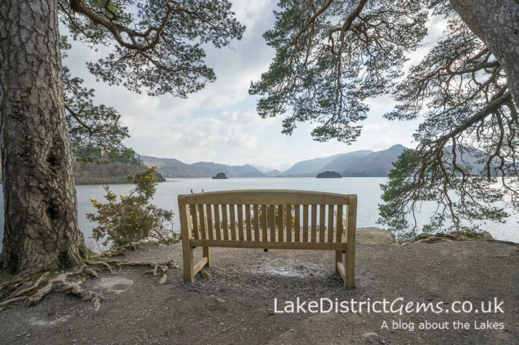 The bench at Friar's Crag