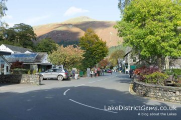 The centre of Grasmere village