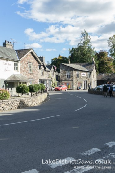 In the centre of Grasmere