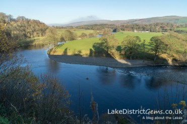 Looking over the Lune Valley from Ruskin's View