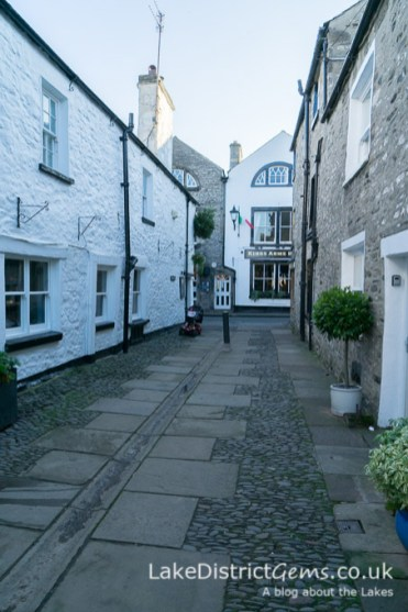 Leading from the church to Market Street, Kirkby Lonsdale