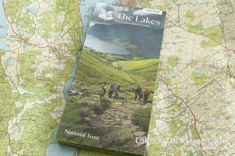 The Lakes National Trust leaflet